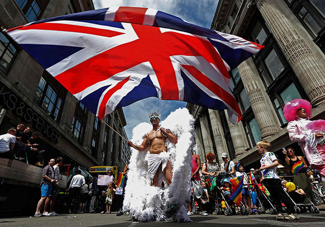 Gay London - London Pride 2015