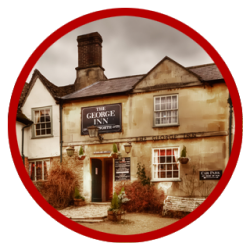The George Inn in Lacock