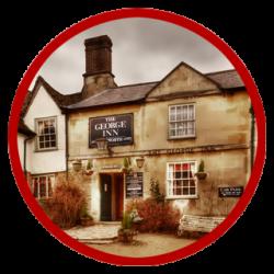 The George Inn in Lacock