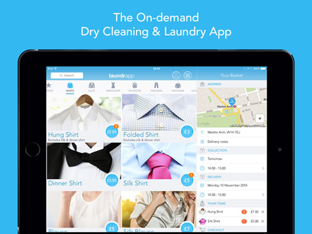 Laundrapp - London laundry and dry cleaning service