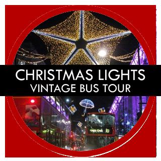 London Gay Tours – London Christmas Lights Vintage Bus Tour