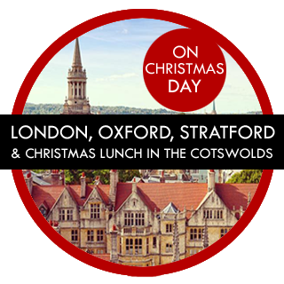 London Gay Tours – London, Oxford and Stratford with Christmas Lunch in the Cotswolds Tour