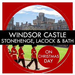 London Gay Tours – Windsor Castle Stonehenge Lacock and Bath Christmas Tour
