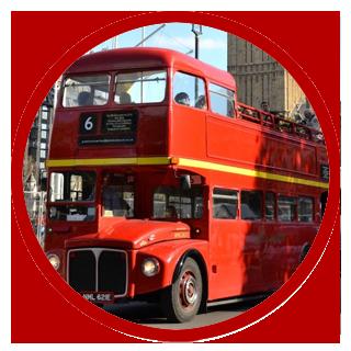 Vintage Open-top Bus