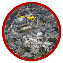 Flying over St Paul's